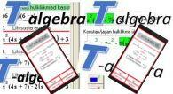 Õpiprogrammi T-Algebra kasutamine ja nutiseadmete rakendamine matemaatika õpetamisel