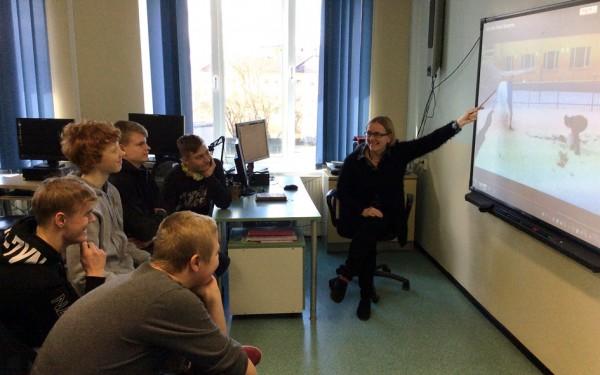 1. Käib töö Norra projekti kallal, juhendaja Mari Tõnisson.jpg
